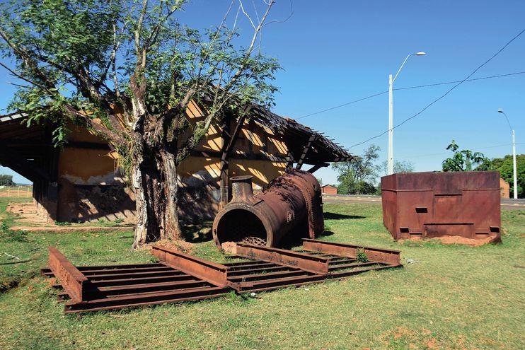 Reliquia ferroviaria en peligro
