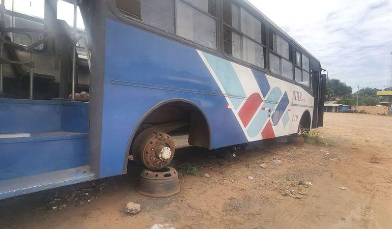 Hasta por los buses sin rueda cobraron subsidio los transportistas.