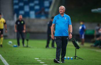 Luiz Felipe Scolari Gremio de Porto Alegre