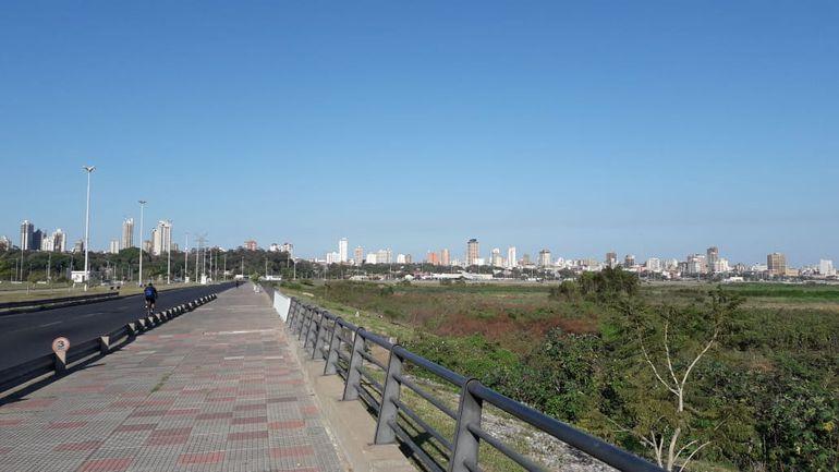 Costanera de Asunción.