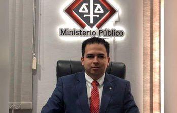 Orlando David Quintana, fiscal.