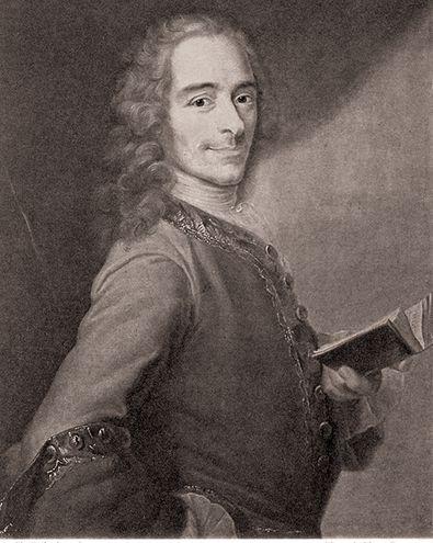 Voltaire  (1694-1778), filósofo y escritor francés.