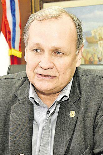 Mario Ferreiro, intendente de Asunción.
