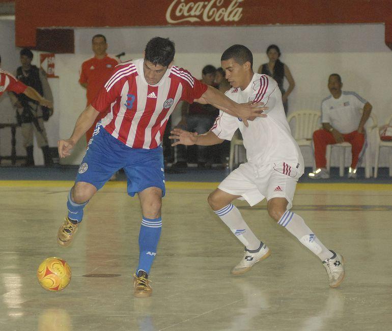 Fabio Alcaráz, Futsal FIFA.