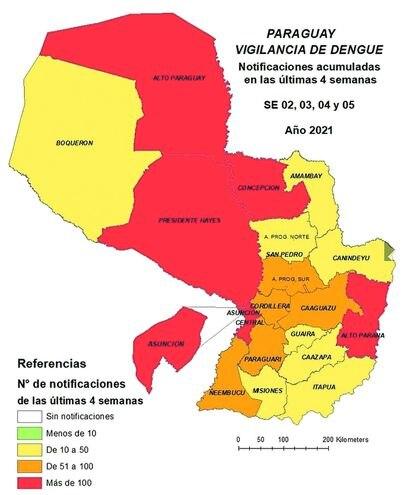 Se agrava situación del dengue con explosión de casos en Concepción