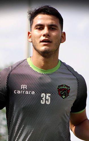 Blas Esteban Armoa, futbolista paraguayo del Juárez de México.
