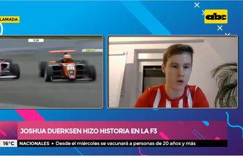 Joshua Duerksen hizo historia en la F3