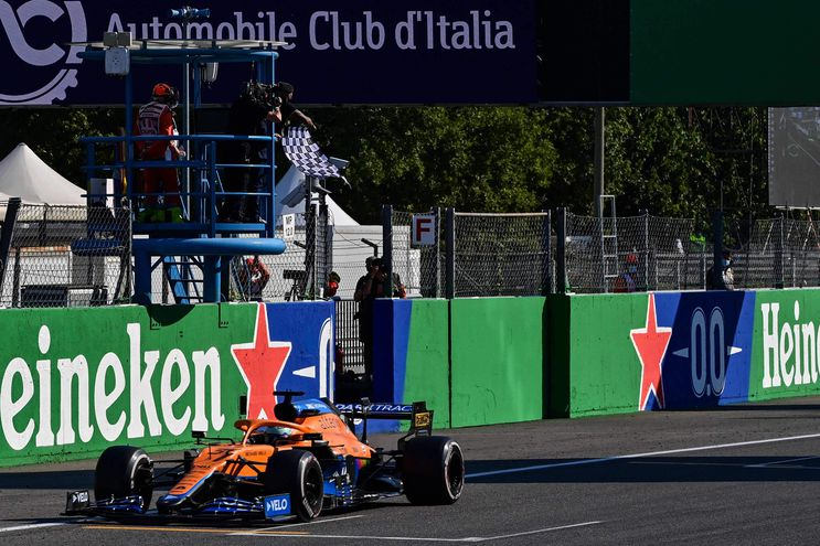 Daniel Ricciardo ganó el Gran Premio de Italia