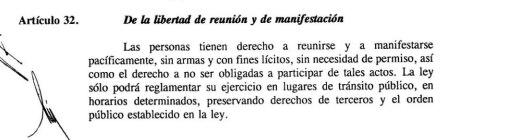Artículo 32 de la Carta Magna.