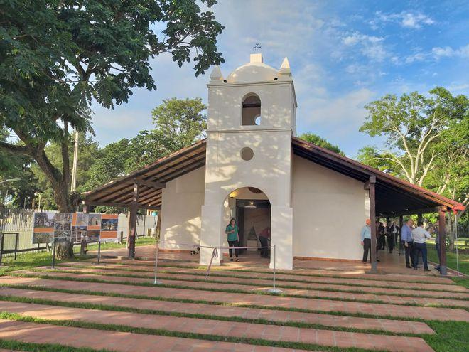 Para la reparación y reacondicionamiento del templo el MOPC destinó G. 4.000 millones.