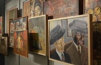 """Cuadros que dejan ver toda la creatividad que la artista paraguaya plasmó son parte de """"El Legado: 100 años de Olga Blinder""""."""