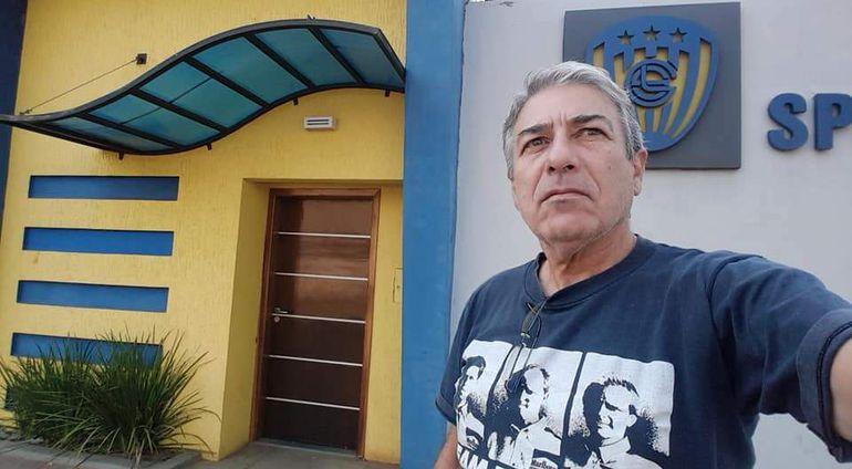 Enrique Rodolfo Gill (63 años), dirigente de Sportivo Luqueño.
