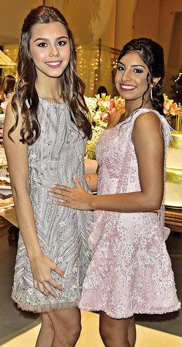 Fashion girls. Romina Bendlin y Sofía Benítez Fernández.