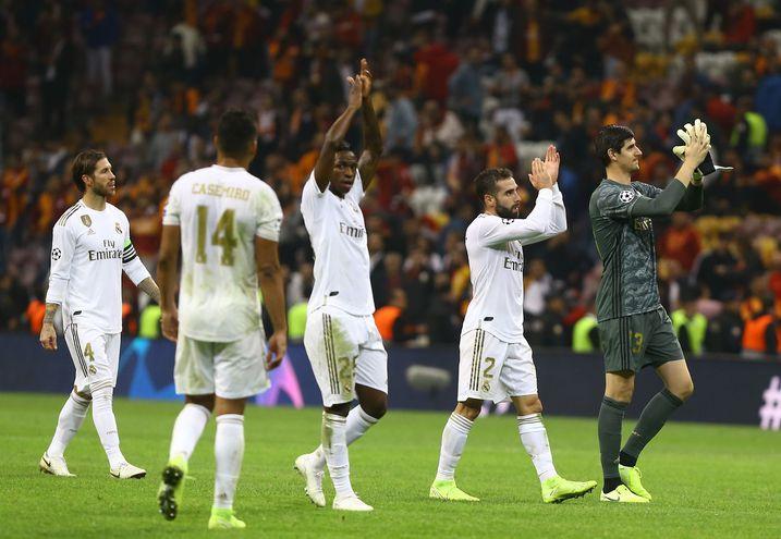 Real Madrid sobrevivió al infierno de Estambul.
