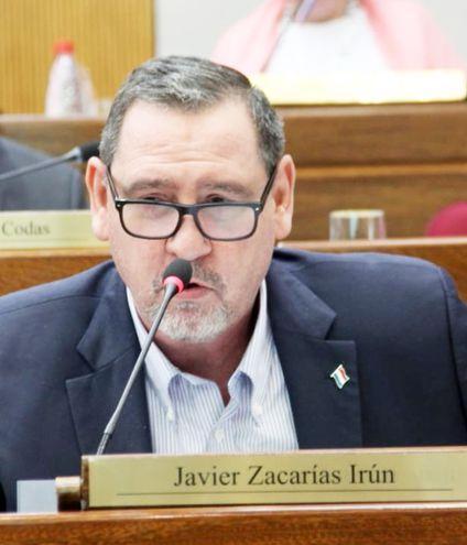 El senador Javier Zacarías Irún (ANR, HC) logró un beneficio en uno de los procesos que afronta.