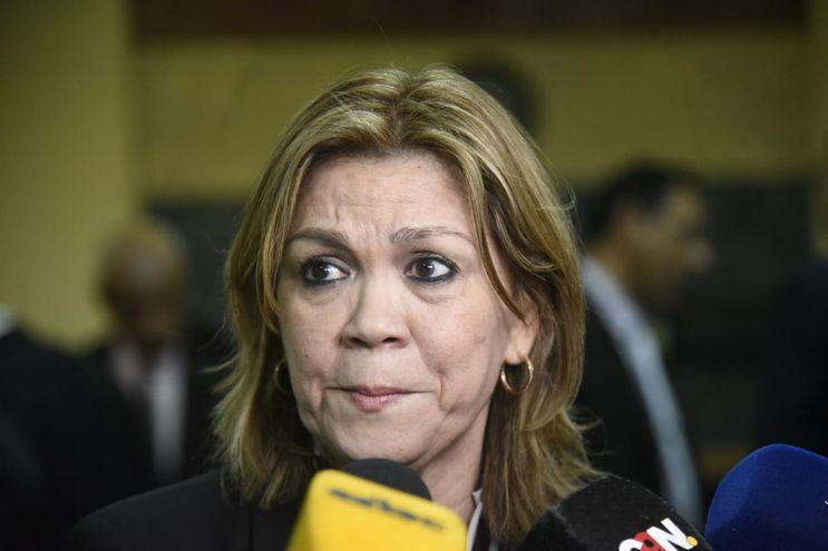 Sara Parquet, abogada de Óscar González Daher.