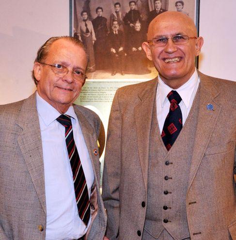 Alain Gerard Georgi-Samaron y Dr. Oliver Pascalin.