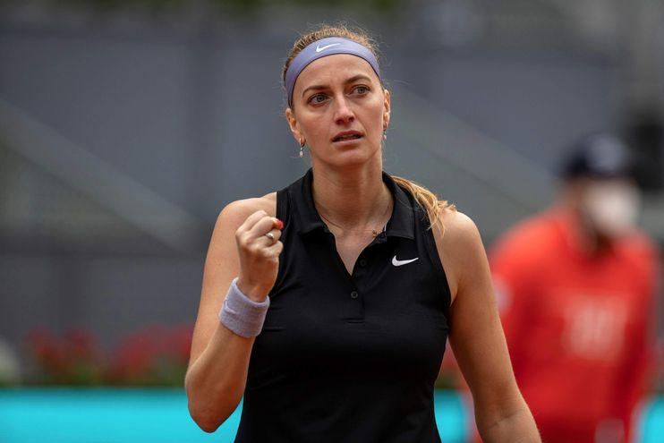Kvitova se clasifica a los cuartos de final.