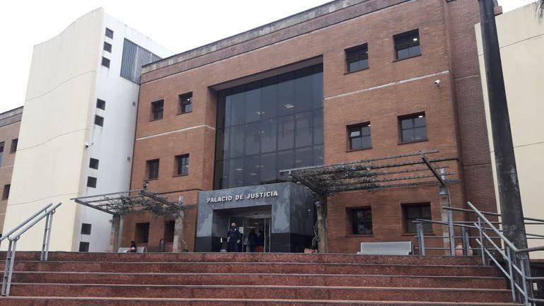 Palacio de Justicia de Pedro Juan Caballero.