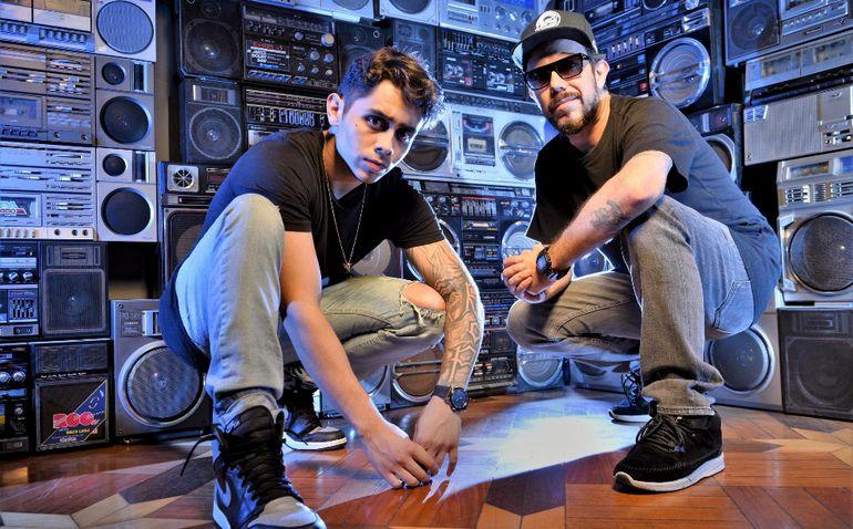 Los DJ André Laudz y Zegon conforman el dúo Tropkillaz.