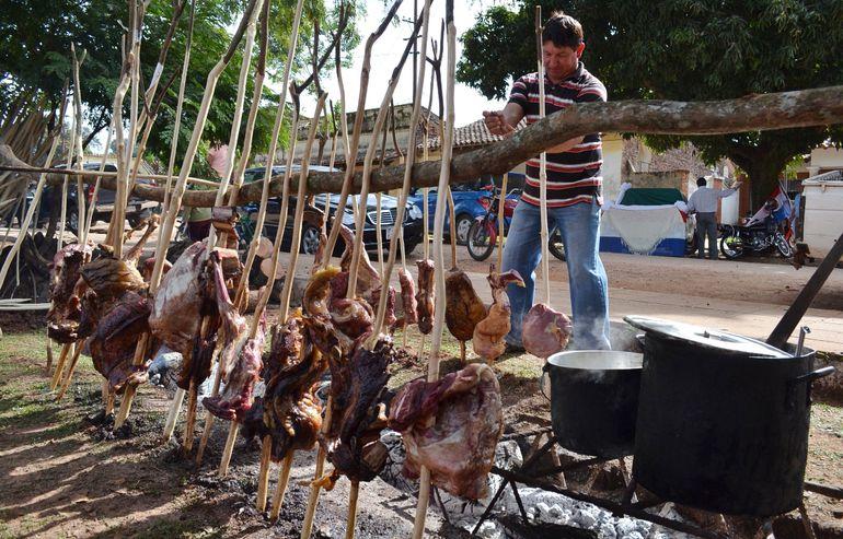 El asado de cordero está en el grupo de  atractivo gastronómico no tradicional de Misiones.