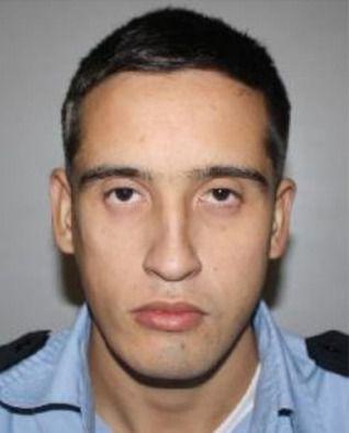 Gustavo Javier Acosta Díaz, agente policial fallecido.