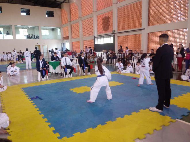 San Lorenzo fue sede del evento internacional de Taekwondo.