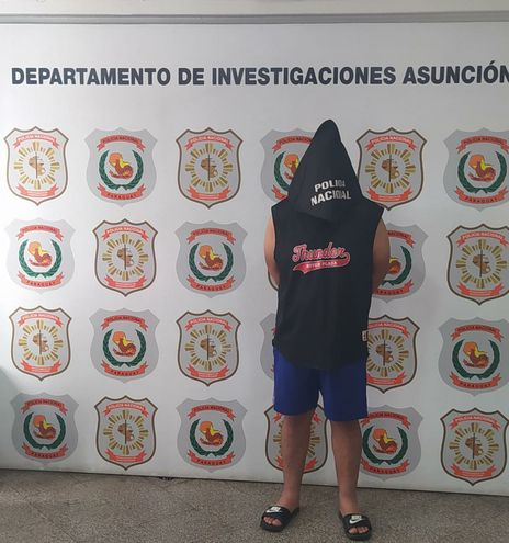 El mecánico Mathías Rodrigo Daniel Núñez Núñez fue detenido por amenazar a su expareja. Está procesado por intento de feminicidio.