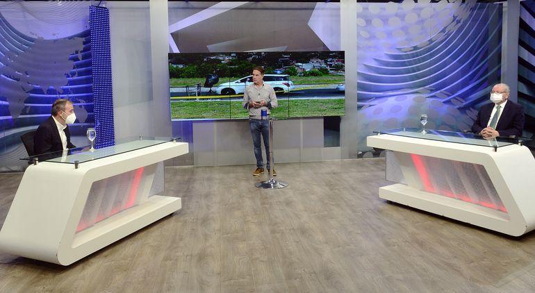 Los profesores doctores Tomás Mateo Balmelli y Antonio Arbo estuvieron anoche en  ABC TV.