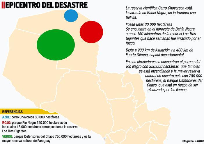 EPICENTRO DEL DESASTRE
