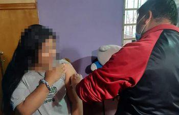 Según comunicó el ministerio de Salud también hará inmunización en los Centros de protección dependientes del Ministerio de la Niñez y la Adolescencia.