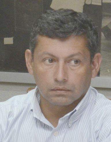 Marcos Antonio Ibarrola Montiel, supuesto apoderado que negoció  la venta de tierras  al Indert. También está acusado.