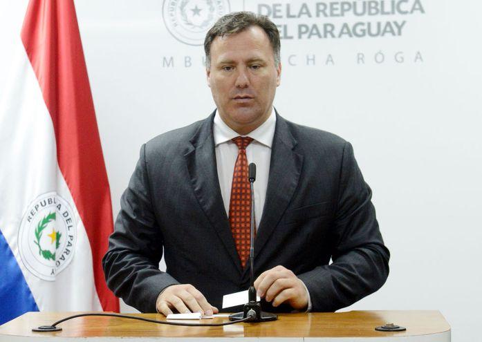 Ramón Jiménez Gaona, exministro de Obras Públicas.