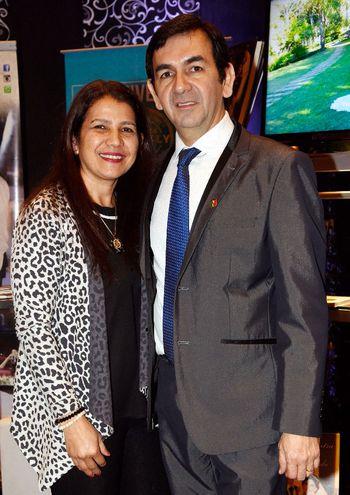 María Aquino de Bardella y Claudio Bardella.