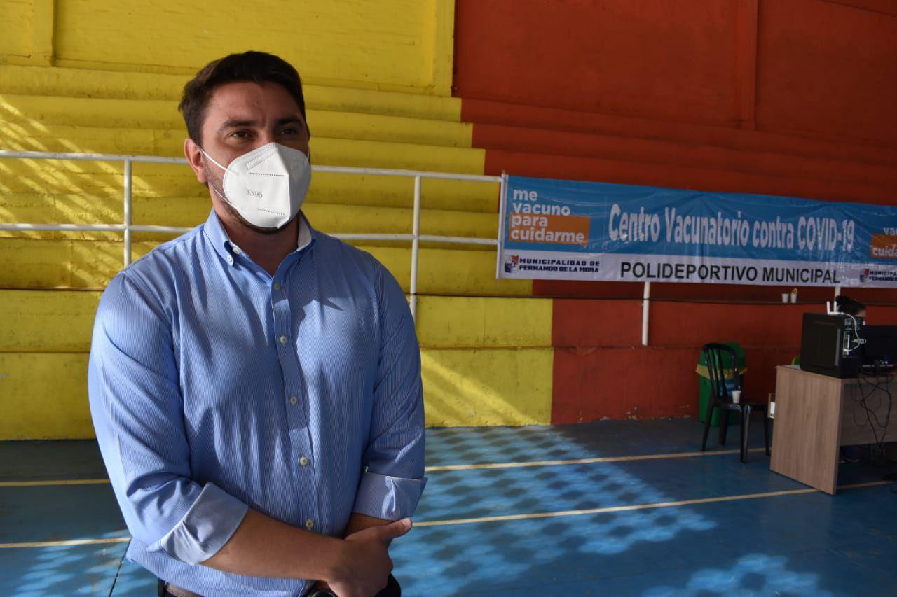 Dr. Luis Battaglia, del Hospital de Fernando de la Mora.