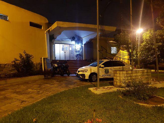 Sede del Departamento Judiciales de la Policía Nacional.