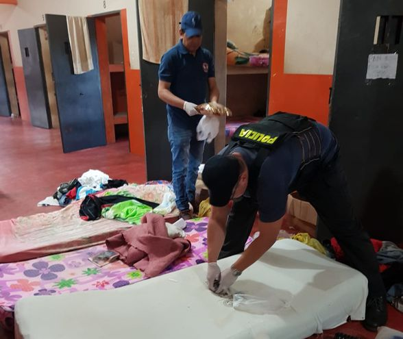 Allanamiento en Penitenciaría de Concepción.