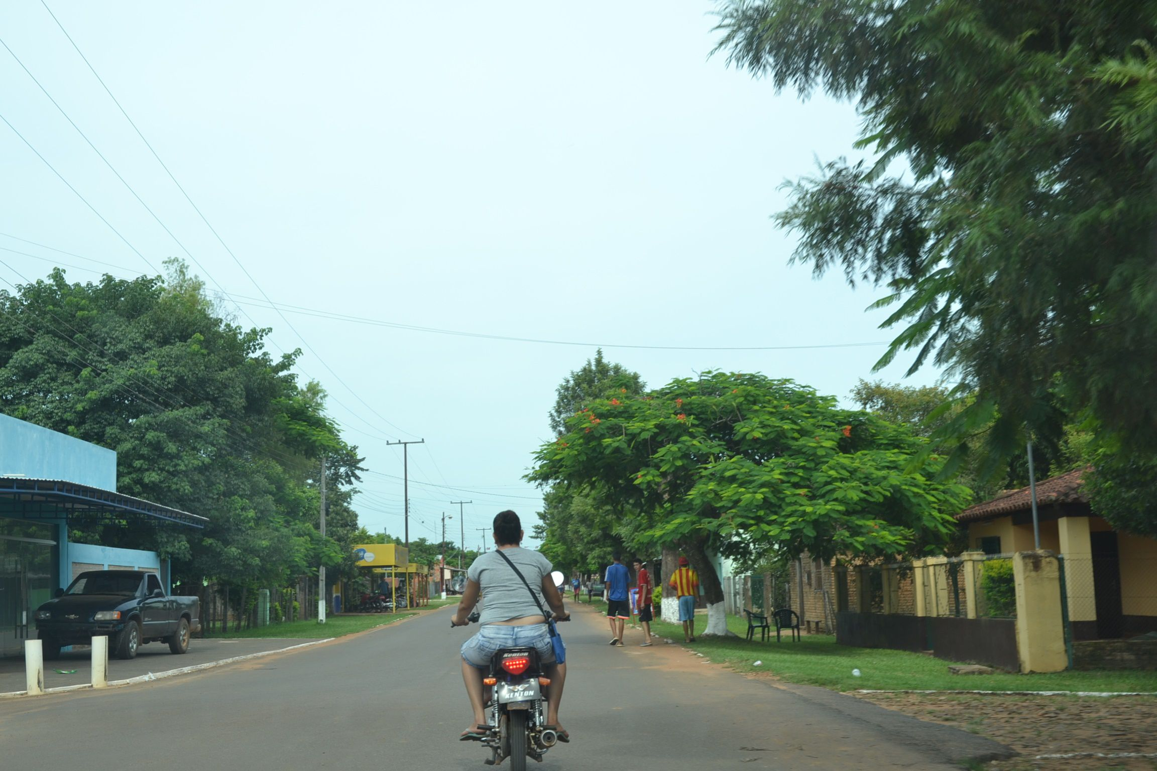 La tranquila ciudad de Mbuyapey donde anoche se registró un trágico suceso