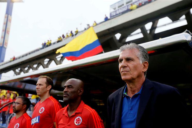 Carlos Queiroz, entrenador de la selección de Colombia.