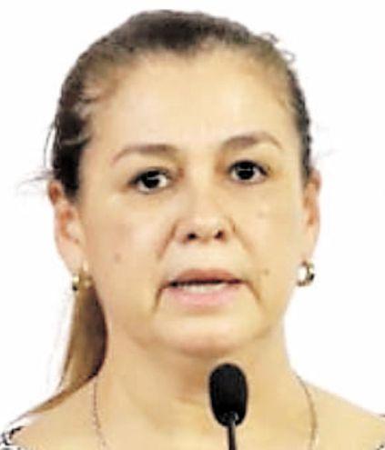 Teresa Rojas, ministra de Senabico, institución que administra los bienes de Darío Messer incautados en Paraguay.