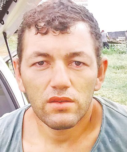 Flavio Acosta Riveros, preso en una cárcel de Foz de Yguazú, Brasil. Será juzgado en ese país por asesinato en Paraguay.
