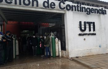 Inauguran planta productora de oxígeno medicinal en Hospital de Villa Elisa.