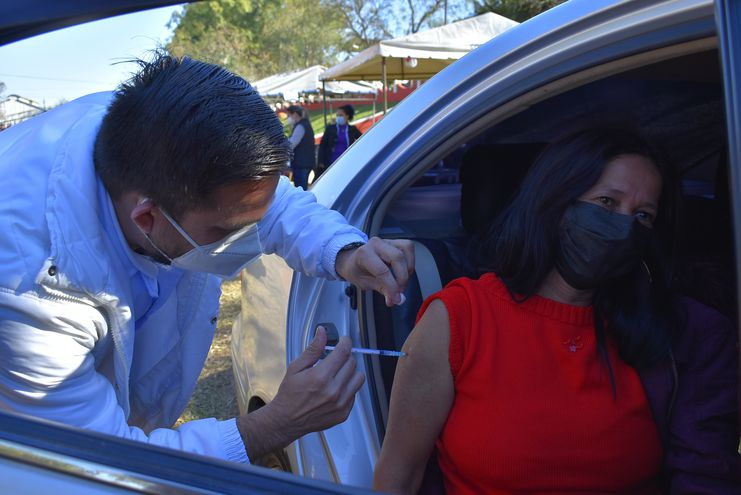 Las internaciones en el Hospital Regional de Villarrica descendieron más del 50% gracias a las vacunaciones, según las autoridades sanitarias del Guairá.