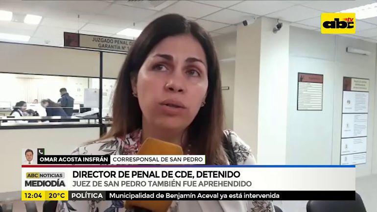 Director de penal de CDE, detenido