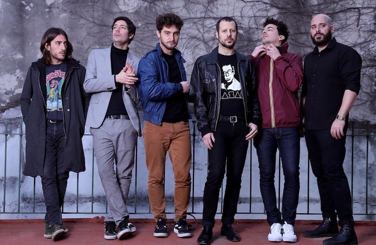La banda argentina El Kuelgue.