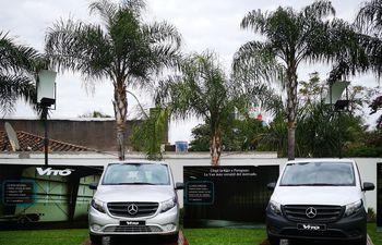Condor acaba de lanzar nuevos vehículos de la marca Mercedes Benz.