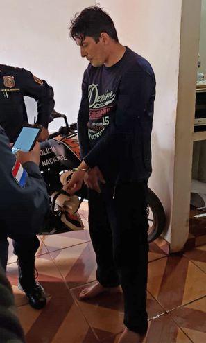 Wilson Miguel Scappini Villalba, guardia de seguridad del Juzgado detenido por el  crimen.