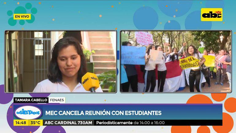 Estudiantes continuarán con manifestaciones