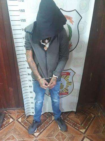 Elvio David García Gavilán, de 24 años.