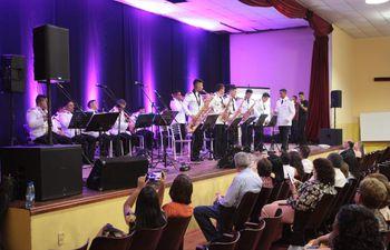 La Jazz Band de la Policía Nacional ofreció un emocionante concierto